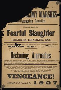 Class manifesto posters