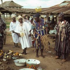 Yam sellers in Ilesa