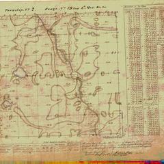[Public Land Survey System map: Wisconsin Township 02 North, Range 19 East]