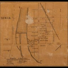 Genoa directory and map