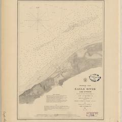 Preliminary chart of Eagle River, Lake Superior