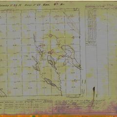 [Public Land Survey System map: Wisconsin Township 31 North, Range 12 East]