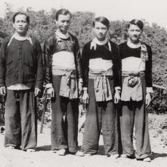 White Hmong young men in Houa Khong Province