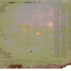[Public Land Survey System map: Wisconsin Township 25 North, Range 16 East]