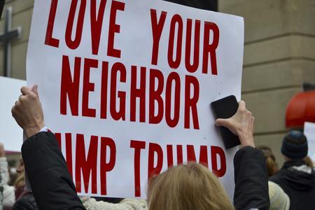 Love Your Neighbor, Dump Trump