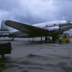 Air America Curtiss C-46 Commando airplane