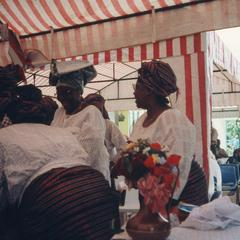 Women at the Ifaturoti wedding