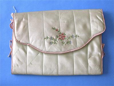 Green lingerie envelope