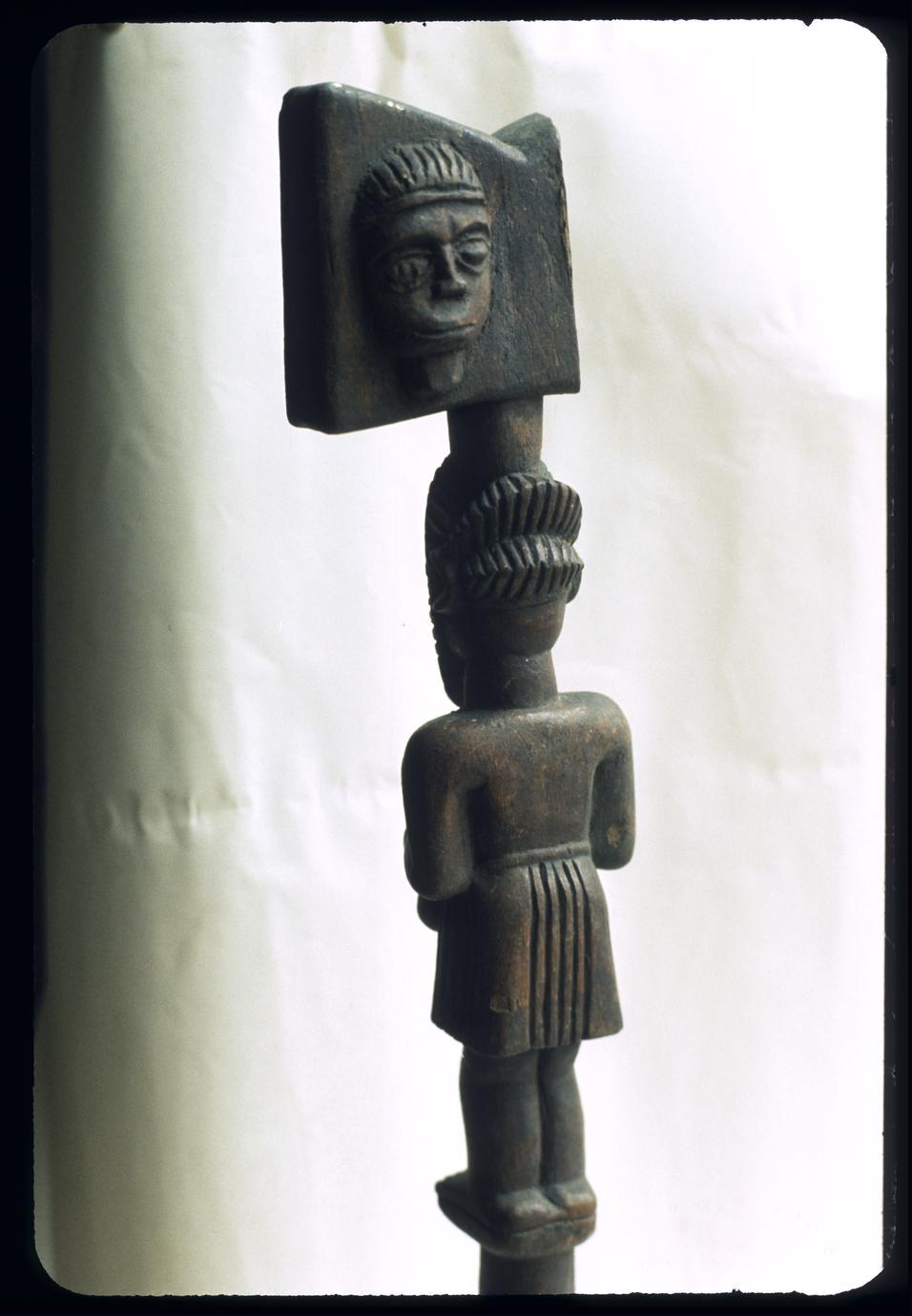 Afro-Brazilian figure for Shango (Xango) of Nago