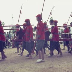 King of Laos' ethnic Khmu' retainers