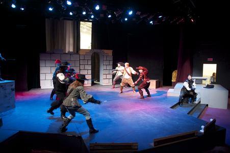 Spring theater performance at UW-Waukesha