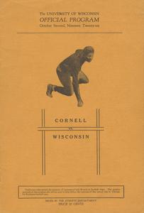 1926 Cornell vs. Wisconsin