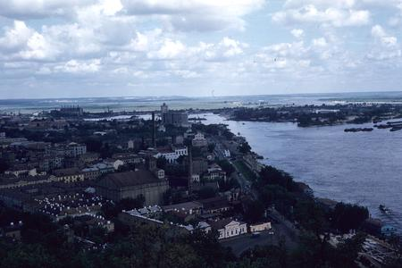 Kiev and the Dnieper River