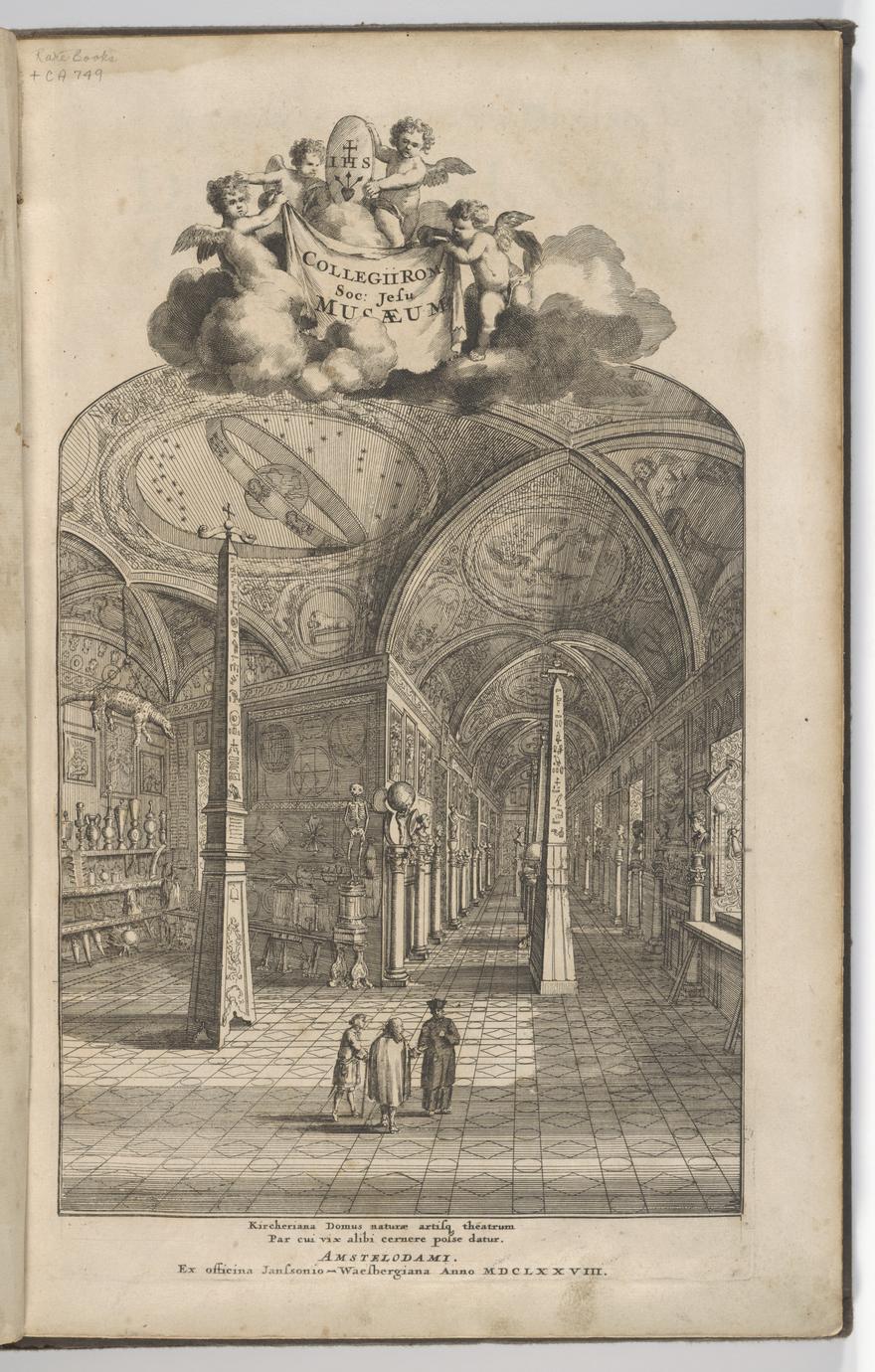 Kircheriana domus naturae artisq theatrum