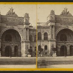 Palais de l'Industrie (vues de Paris)