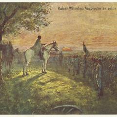 Kaiser Wilhelms Ansprache an seine Grenadiere