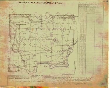 [Public Land Survey System map: Wisconsin Township 16 North, Range 11 East]