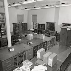 TA's crowded desks