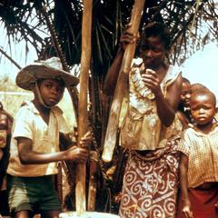 Grinding Cassava (Manioc) Flour