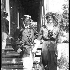 Helen Dunger and Jimmie Horvail