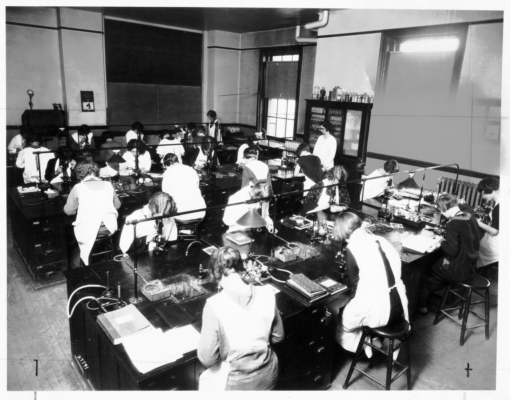 Bacteriology laboratory