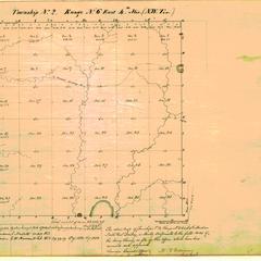 [Public Land Survey System map: Wisconsin Township 02 North, Range 06 East]