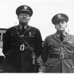 Tank Battalion, Captains Bruni and Bartlett