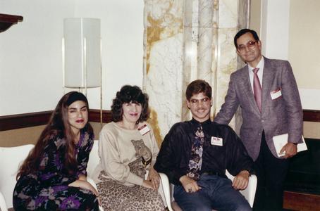 Students at 1993 Academic Advancement Program graduation ceremony