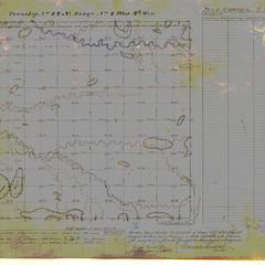 [Public Land Survey System map: Wisconsin Township 22 North, Range 02 West]