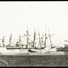 Kenosha harbor sail boats