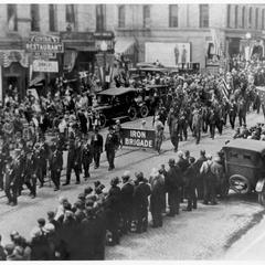 Civil War veterans parade 1924
