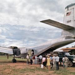 Air America Caribou in Sayabouri