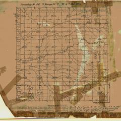 [Public Land Survey System map: Wisconsin Township 46 North, Range 02 West]