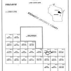 Shawano County, Wisconsin, land cover maps