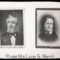 Mr. and Mrs. Lucas G. Merrill