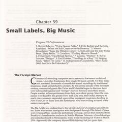 Small labels, big music