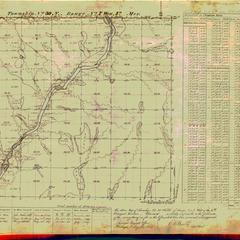 [Public Land Survey System map: Wisconsin Township 30 North, Range 07 West]