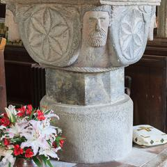 Altarnun St Nonna baptismal font