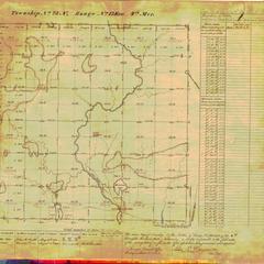 [Public Land Survey System map: Wisconsin Township 23 North, Range 13 East]