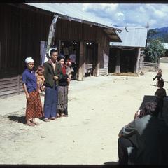 """Yao village--""""chief's"""" family"""