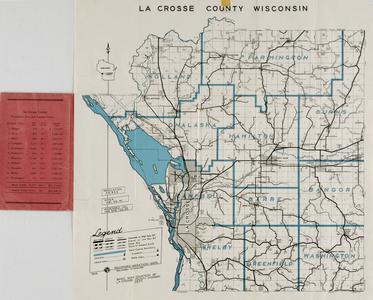 Official La Crosse County road map