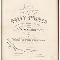 Sally Primer