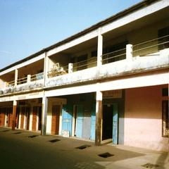 Storefronts Lining a Main Street in Ziguinchor, the Capital of the Casamance Area