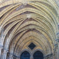 Lincoln Cathedral southwest transept Galilee porch