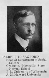 Alfred H. Sanford, history professor