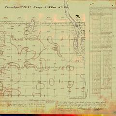 [Public Land Survey System map: Wisconsin Township 16 North, Range 04 East]