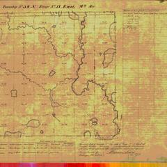 [Public Land Survey System map: Wisconsin Township 34 North, Range 17 East]