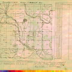 [Public Land Survey System map: Wisconsin Township 17 North, Range 10 East]