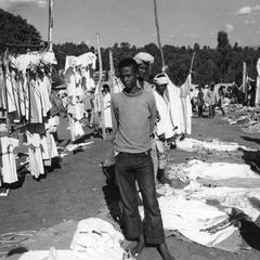 Clothing Vendors at Periodic Markets