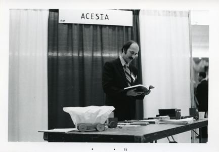 ACESIA conference booth
